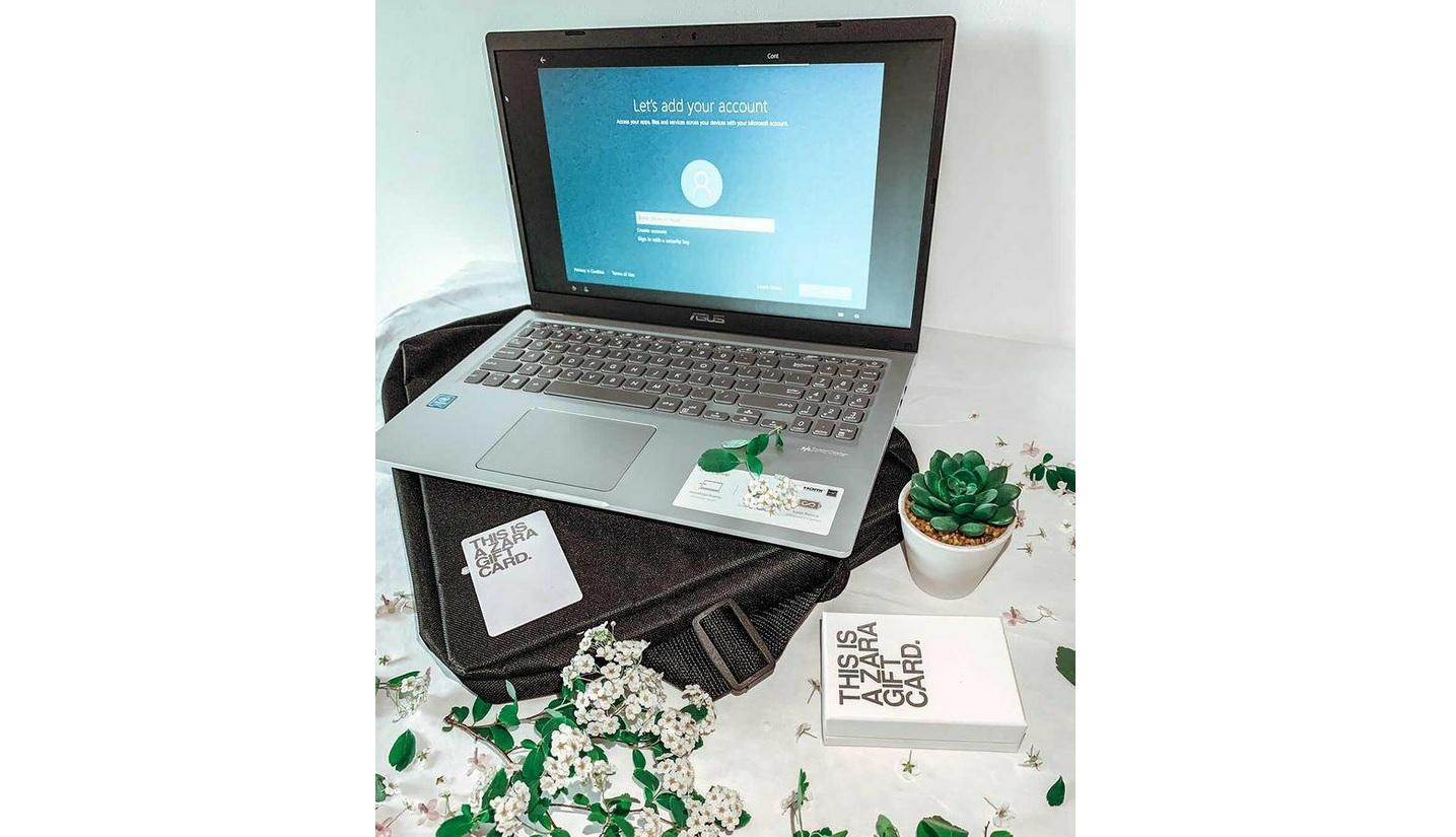 Giveaway laptop
