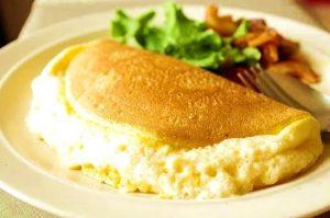 omletă pufoasă