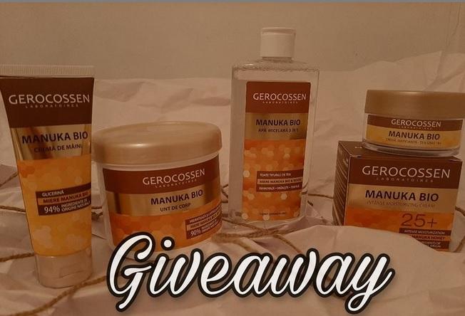 Giveaway produse cosmetice Gerocossen